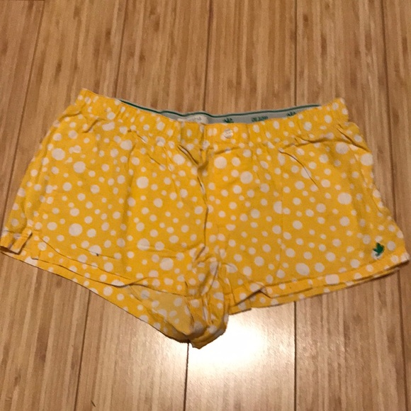 polka dot pajama shorts